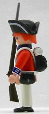 ROYAL GUARD SOLDAT Playmobil vs Continental Army zu King George 1778 Custom 1844