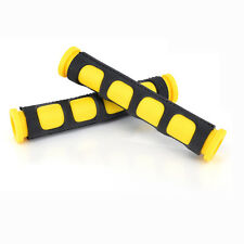 Universal Guard Motorcycle Brake disc Front Cover Handlebar Grips Yellow