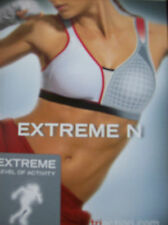 Bra Triumph Triaction Extreme N Non Wired Sports Bra Black Size 32 C New + Tags