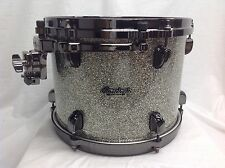 "Tama Starclassic Bubinga 12"" Diameter X 9"" Deep Mounted Tom/Platinum Sparkle/NEW"