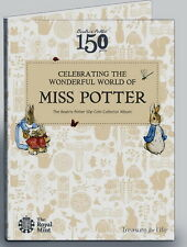 The Beatrix Potter 50p Coin Collector Album (Royal Mint 2016) cheapest on eBay