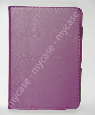 "Purple PU Leather Case Cover Skin Stand for Acer Iconia Tab a200 10.1"" Tablet"