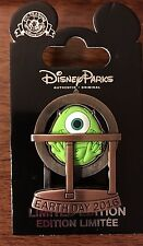 Disney Earth Day 2016 Pin Mike Wazowski Monsters Inc LE2000