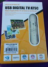 Monoprice 6456 USB 2.0 ATSC TV (HDTV) Tuner - White