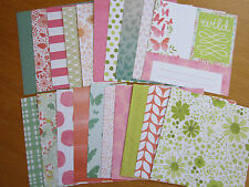 """Recollections 'BLOSSOMS & BLISS' - 20 sheets (6x6"""")  SET 2"""