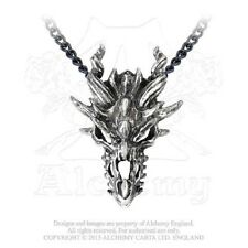 P625 DRAGON SKULL PENDENT BY ALCHEMY GOTHIC OF ENGLAND