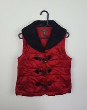 WOMENS RED RALPH LAUREN SLEEVELESS BODYWARMER WINTER GILET JACKET COAT VGC UK 10