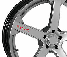 4 x Stickers for Wheels fits Smart ForTwo ForFour Roadster Brabus Emblem Logo R