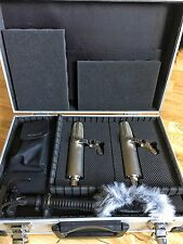Roland R-26 Plus Condenser Mics, Case, Etc