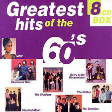 Various Artists, Greatest Hits of the 60's, Excellent Import, Box set