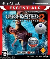 Uncharted 2: Among Thieves (PS3)Russian,English,Spanish,Polish,Portuguese *USED*