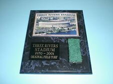 STEELERS PIRATES THREE RIVERS STADIUM TURF PLAQUE