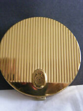 Vintage Coty gold powder compact