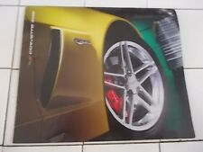 2006 Chevrolet CORVETTE Z06 ORIGINAL Fold Out BROCHURE