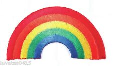 Quality Embroidered Rainbow Motif Patch Applique Sew/Iron on H 3.8cm x W 7.3cm