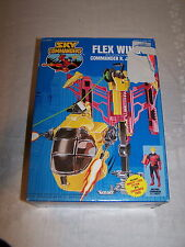 Sky Commanders Flex Wing - open box with sealed contents, Commander R.J. Scott