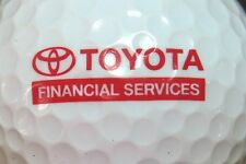 (1) TOYOTA CORPORATION AUTOMOTIVE LOGO GOLF BALL - FINANCIAL SERVICES