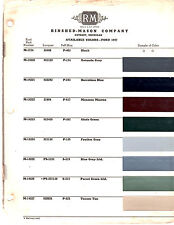 1946 FORD SUPER DELUXE SPORTSMAN COUPE 46 PAINT CHIPS RINSHED MASON