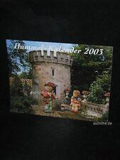 Goebel Hummel Kalender Calendar 2003, Geigerlein, I mog di, hochglanz