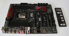 MSI Gaming Intel X99 LGA 2011-3 DDR4 HDMI SATA ATX Motherboard (X99S GAMING 7)