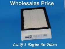 Lot 3 Air Filter MA4343 Service Pro Made In Mexico Fits: Ford Lincoln Mercury