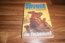 DOC SAVAGE der BRONZEMANN  #  18 -- die TEUFELSINSEL  // 1. Auflage 1974