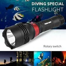 Waterproof 500M Underwater 5000LM XM-L T6 LED Diving Flashlight Torch RD
