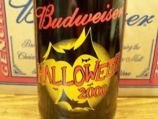 Budweiser,  HALLOWEEN  2000  Glass  Beer  Bottle  Empty,  64 Oz King Pitcher