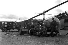New 5x7 Korean War Photo: Headquarters of 8225th Mobile Army Surgical Hospital