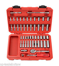 51-pc. 1/4 in. Drive Socket Set (5/32 - 9/16 in., 5-14 mm) 6 pt.