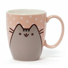 Gund Pusheen Polka Dot Porcelain Coffee Mug 12 oz.