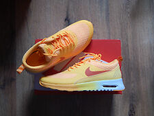 WMNS NIKE AIR MAX THEA PRM ATOMIC MANGO ORANGE MTALLIC SILVER UK5.5 US8 BNIB