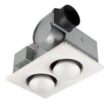Nutone 9427P Two Bulb Heater/Exhaust Fan