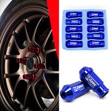 20x Blue D1-SPEC JDM Racing Wheel Lug Nuts M12X1.5 for HONDA CIVIC ACURA INTEGRA
