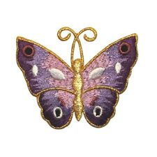ID 2042 Butterfly Insect Embroidered Iron On Applique Patch