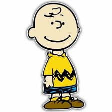 Charlie Brown Peanuts Snoopy Vynil Car Sticker Decal 2.5""