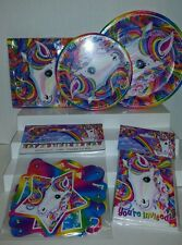 Lisa Frank Rainbow Majesty Horse Birthday Party Pack for 8 Plates Napkins Banner