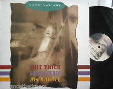 "CARNIVAL ART ~ ---- Thick / Sucker Punch / Ms Rubble ~ 12"" Single PS"