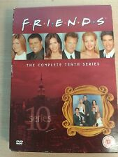 * DVD TV BOXSET * FRIENDS SEASON TEN * SERIES 10 * DVD TELEVISION SET *