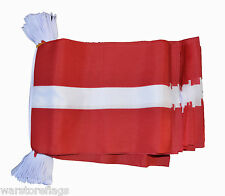 LATVIA 9 METRE BUNTING 30 FLAGS flag Latvian Riga