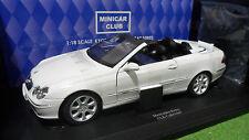 MERCEDES BENZ CLK Cabriolet Blanc White au 1/18 KYOSHO 09003W voiture miniature