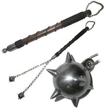 Authentic Medieval Flail Spiked Metal Ball 33 inches