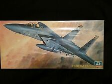 Hobby Kits Model Kit - F-15D/DJ Eagle Fighter Jet  - Scale 1:72