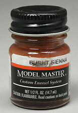 Testors Model Master Burnt Sienna 1/2oz Enamel Paint 2007 TES2007