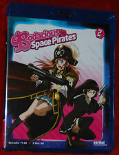 Bodacious Space Pirates: Collection 2 (Blu-ray Disc, 2013) BRAND NEW ANIME