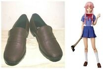 The Future Diary Gasai Yuno Mirai Nikki Cosplay Costume Boots Boot Shoes Shoe