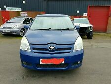 Toyota Corolla Verso 1.8 2004-2008 Breaking For Spares