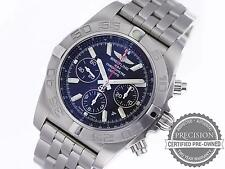 BREITLING CHRONOMAT 44 FLYING FISH AB0110 AUTOMATIC CHRONOGRAPH AB011010/BB08