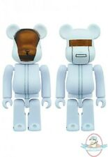 Daft Punk Bearbrick 100% 2 Pack White Suits Version by Medicom