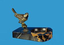 Originale Wiener Bronze um 1900 'Vogel an der Tränke' - keine Reproduktion